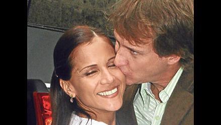 Al fondo hay sitio: Mónica Sánchez y Christian Thorsen se abrazaron