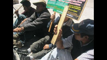 Arequipa: Pobladores de Huambo levantan huelga de hambre