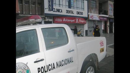 Roban artefactos y dinero en galería del Centro de Lima