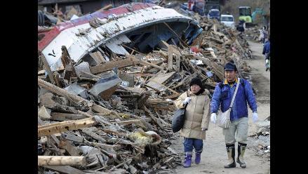 Imágenes tras el devastador paso del tsunami en Japón