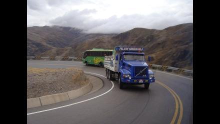 Transportistas se quejan por asaltos en las carreteras de San Martín