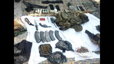 Intervienen a diez personas con armas y municiones en Ancash