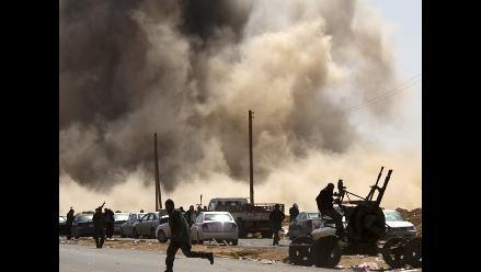 Libia: Combates en Misrata y Ajdabiya pese a anuncio de alto el fuego