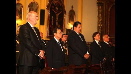 Presidente García asistió a misa en memoria de víctimas en Japón