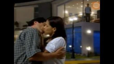 Charito y Lucho recordaron su amor con un beso en Al Fondo Hay Sitio