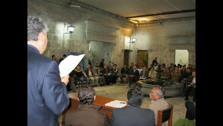 Arequipa: Autoridades y organizaciones se movilizarán por Majes-Siguas