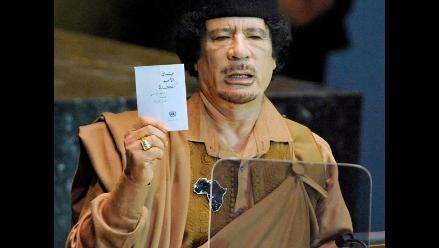 Gadafi reaparece en televisión: ´Al final saldremos victoriosos´