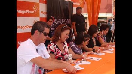 Elenco de telenovela Ana Cristina sacudió Lima Norte
