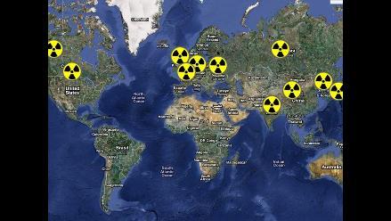 Existen más de 400 plantas nucleares en el mundo