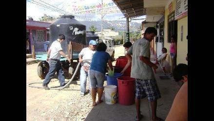 Moyobamba: 50 % de agua potable se pierde por fugas en tuberías