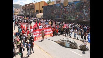 Cusco: Organizaciones sociales se movilizan contra Majes Siguas II