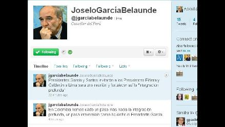 García y Santos invitarán a reunión en Lima a Piñera y Calderón