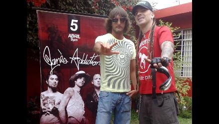 Edu Saettone y Gerardo Manuel Jr. se unen a fiebre por Jane's Addiction