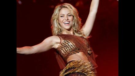 Shakira será recibida en Lima a ritmo del