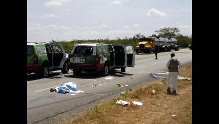 Hallan siete cadáveres dentro de auto en México