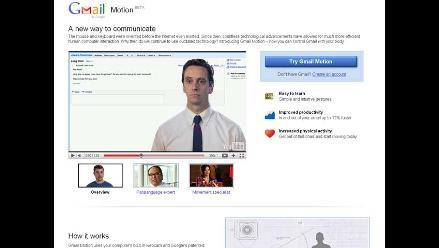 Google lanza una versión de Gmail que sería controlado con el cuerpo