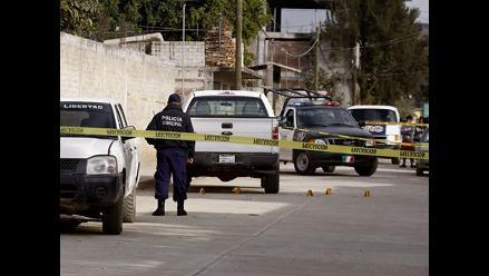 México: Seis policías mueren en enfrentamiento armado con sicarios