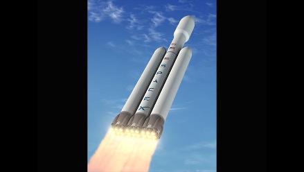 Presentan un potente cohete espacial capaz de llegar hasta Marte