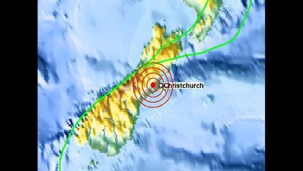 Fuerte sismo castiga la costa este de Nueva Zelanda