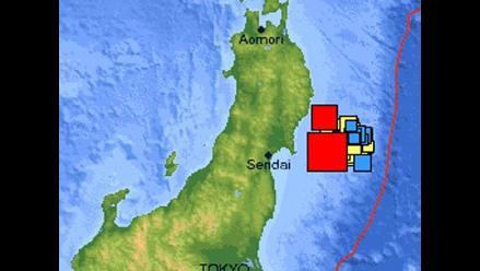Fuerte sismo sacude costa este de Japón