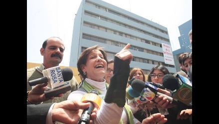 Susana Villarán afirma que su voto ´ha sido por la democracia´