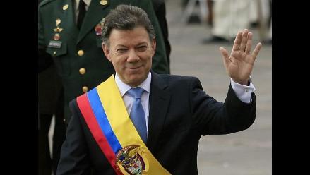 Presidente Santos felicita a peruanos por
