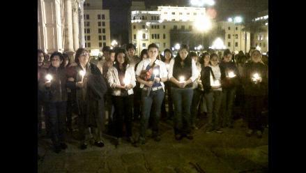 Familia y amigos de Ciro Castillo hacen vigilia en Catedral de Lima