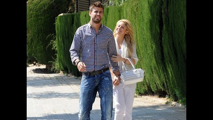 Shakira y Piqué se lucen juntos en Barcelona