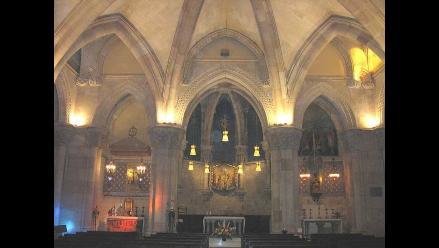 Detienen a presunto autor del incendio en templo de la Sagrada Familia