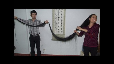 China: Mujer cortará su cabello de 3,6 metros para hacer un bordado