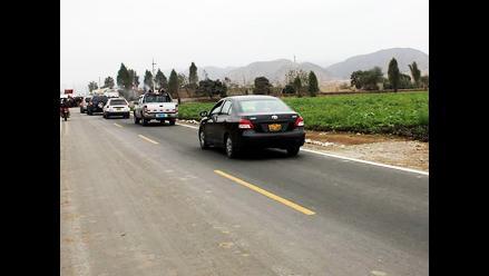 Chimbote: Policía de Carreteras atendió 14 emergencias vehiculares