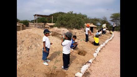 Lambayeque: Niños celebran el Día de la Tierra