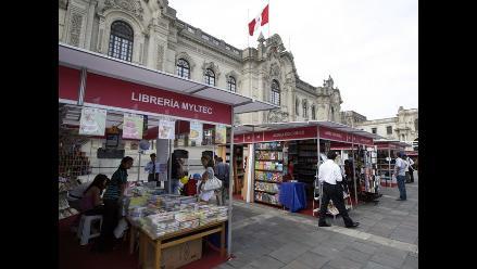 Inauguran Feria del Libro en Palacio de Gobierno