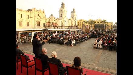 Presidente García inaugura II Feria del Libro en Palacio de Gobierno
