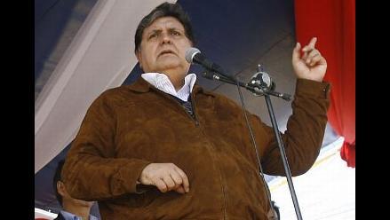 Presidente García: Mi esposa ha dicho la verdad y punto