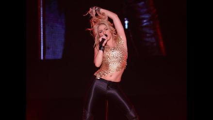Shakira asiste a academia de striptease