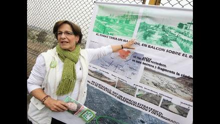 Villarán inspeccionó avance de obras en nuevo mercado de Santa Anita