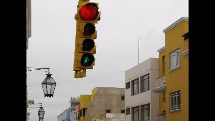 Trujillo: Nueva red de semáforos inteligentes lista para fin de mes