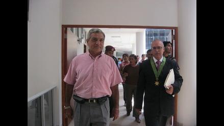 Juicio a Elidio Espinoza fue nuevamente suspendido en Trujillo