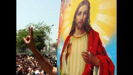 Al menos 10 heridos en manifestación de cristianos en El Cairo
