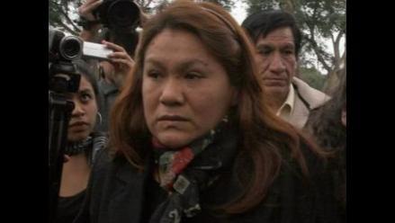 Clarisa Delgado celebra pedido de Fiscalía contra Abencia Meza