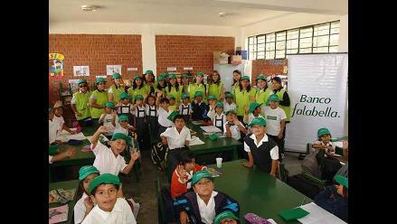 Banco Falabella favorece a más de 1,200 niños de colegio de Alto Trujillo