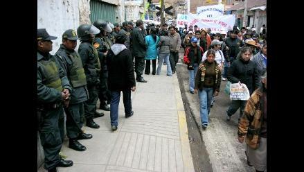 Cotabambas: Parcialmente acatan paro de 72 horas en Challhuahuacho