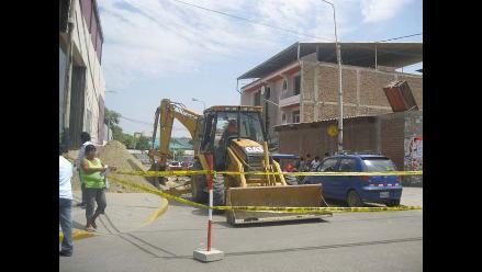 Cierre de calles por obras en Piura causa malestar a los pobladores