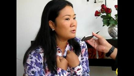 Keiko Fujimori niega denuncias contra rifas de Fuerza 2011 149f771ec8382