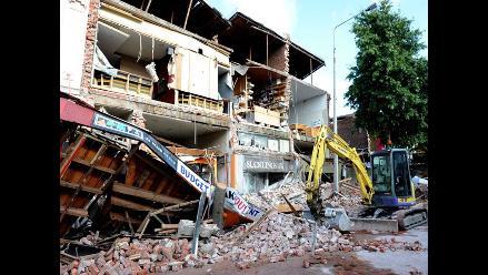 Declaran muerta a peruana desaparecida tras terremoto de Nueva Zelanda