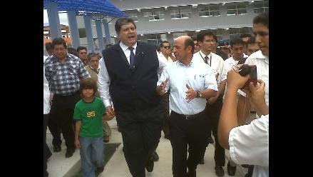 Presidente García supervisó remodelación de Colegio Nacional de Iquitos