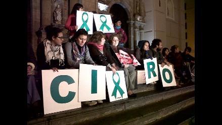 Vigilia por el cumpleaños de Ciro Castillo