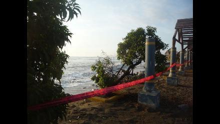 Hasta el jueves se registrarán oleajes anómalos en La Libertad