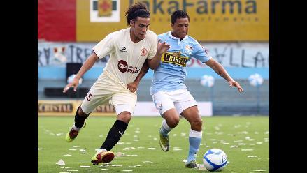 Incidencias del Sporting Cristal vs. León de Huánuco en el San Martín